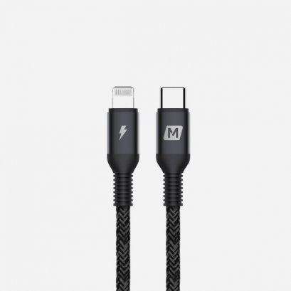 Momax Elite Link Lightning to Type-C Cable (1.2M) - Black
