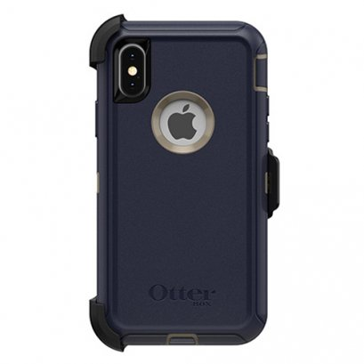 OtterBox Defender for iPhone X / Xs  - Dark Lake