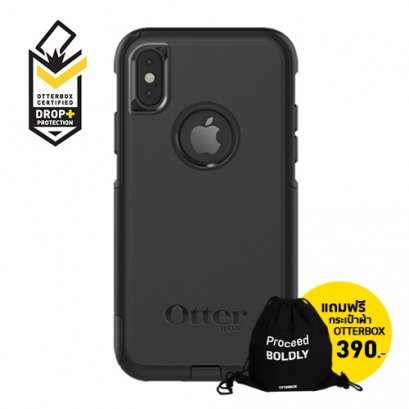 OtterBox Commuter Series for iPhone X / XS - Black