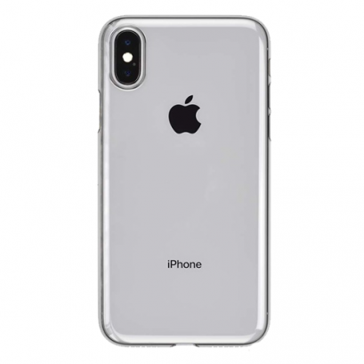 Power Support Air jacket for iPhone X / Xs - Clear Black