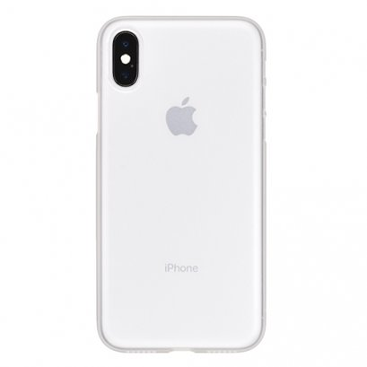 Power Support Air Jacket For iPhone X (no film) - Clear Matte