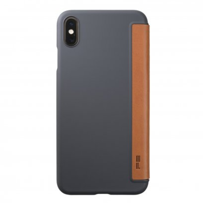 Power Support Air jacket Flip for iPhone XS Max - Brown