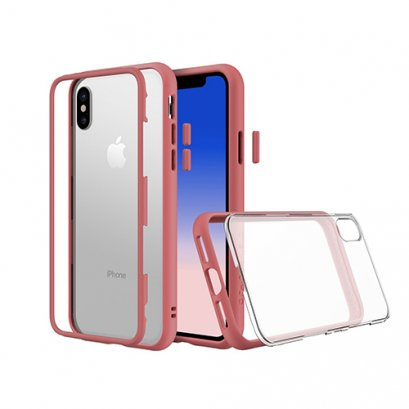 Rhinoshield Mod for iPhone X / Xs - Coral Pink