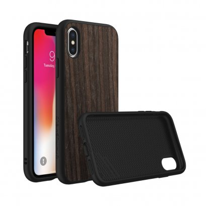 Rhinoshield SolidSuit for iPhone X / Xs - Black Oak