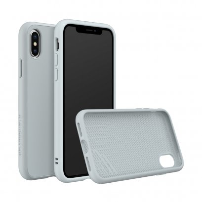 Rhinoshield SolidSuit for iPhone X / Xs - Classic Cloud Gray