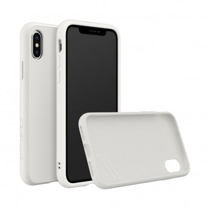 Rhinoshield SolidSuit for iPhone X / Xs - Classic White