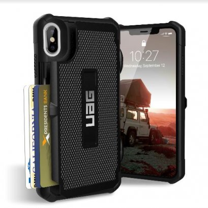 UAG Card Case for iPhone Xs Max - Black