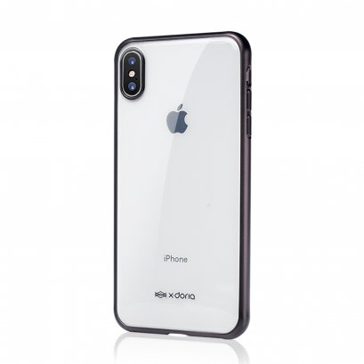 X-Doria Gel Jacket Plus for iPhone Xs Max - Black