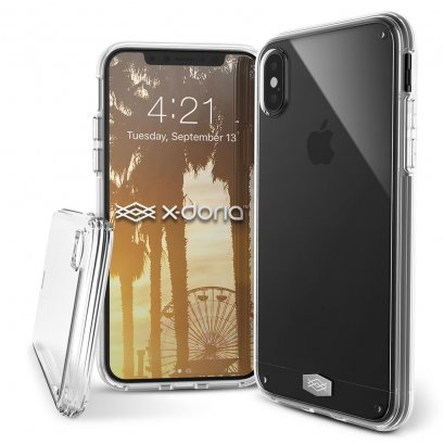X-doria Clearvue for iPhone X / Xs - Clear