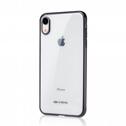 X-Doria Gel Jacket Plus for iPhone XR - Black
