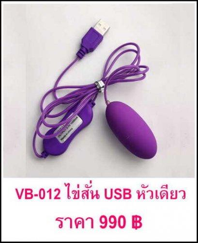 VB-012 ไข่สั่น USB หัวเดียว