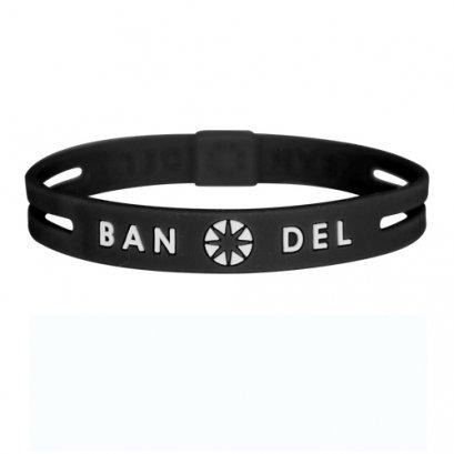 BANDEL stringbracelet ストリングブレスレットBlackxWhite