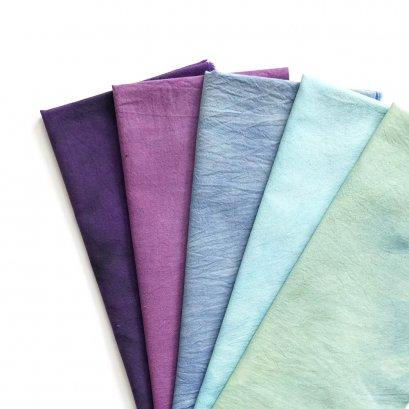 ผ้าคอตตอนย้อมมือจัดเซ็ต TKM003