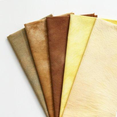 ผ้าคอตตอนย้อมมือจัดเซ็ต TKM004