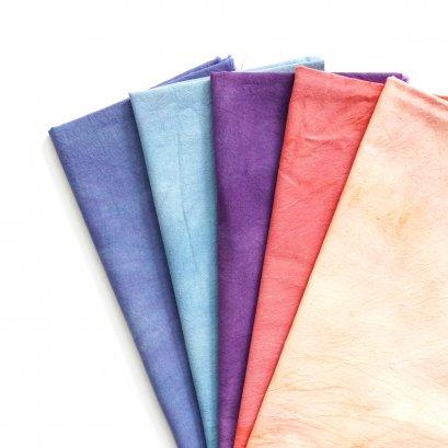 ผ้าคอตตอนย้อมมือจัดเซ็ต TKM001