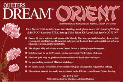 "Quilters Dream Batting Oriented 120"""
