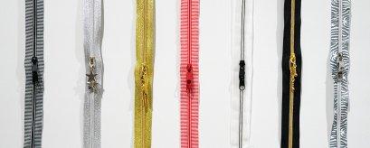 StudioKat Designs Two Slider Closed Bottom Zipper 22 inches
