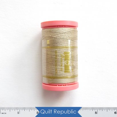 Presencia Cotton Sewing Thread 3-ply 60wt 600 Yards  Beige Gray