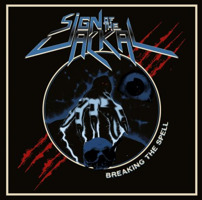 SIGN OF THE JACKAL'Breaking The Spell' CD.