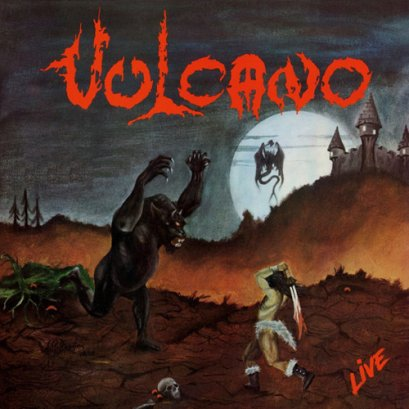 VULCANO 'Live!' CD.