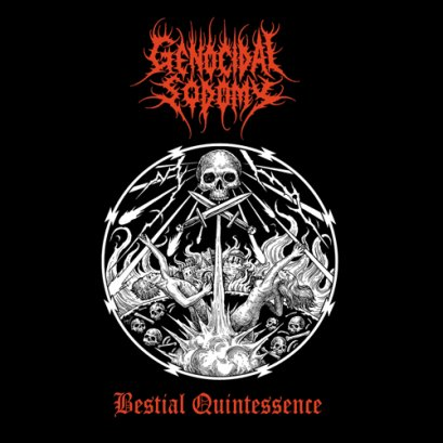 GENOCIDAL SODOMY'Bestial Quintesssence'. Tape.