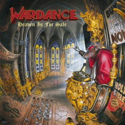 WARDANCE'Heaven Is For Sale' CD.
