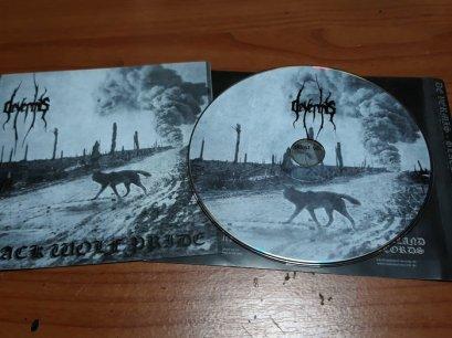 DE VAMIS'Black Wolf Pride' CD.