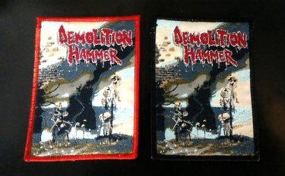 DEMOLATION HAMMER'Epidemic Violence' Woven Patch.(Bootleg)