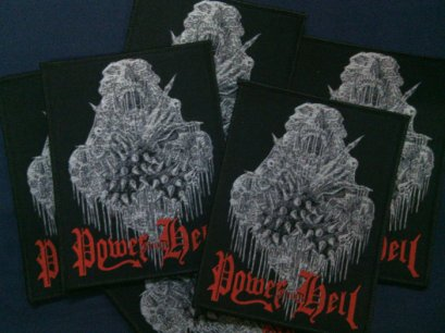 POWER FROM HELL'S/T' Woven Patch