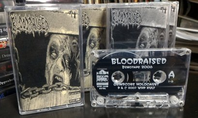 BLOODRAISED'Demotape 2006' Tape.
