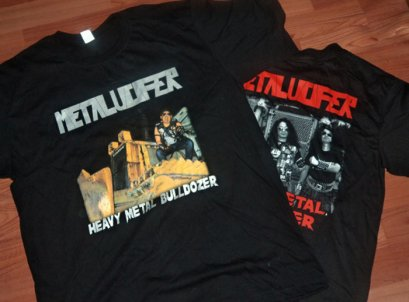 METALUCIFER'Heavy Metal Bulldozer' T-Shirt