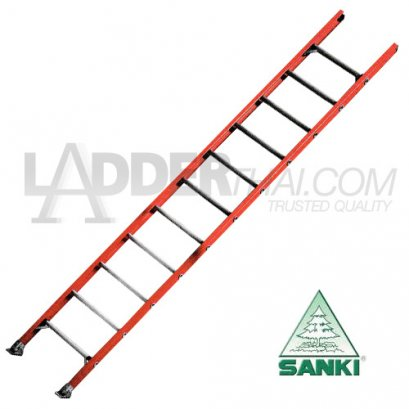 บันไดไฟเบอร์กลาสพาด 1 ตอน SANKI : LD-FBS