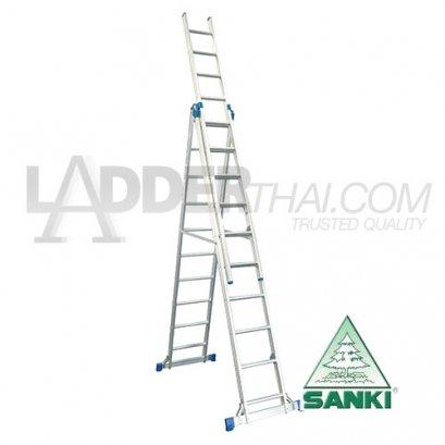บันไดกางปรับพาด 3 ตอน SANKI : LD-SA03
