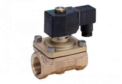 "CKD Solenoid Valve for Water 1"" 220VAC"
