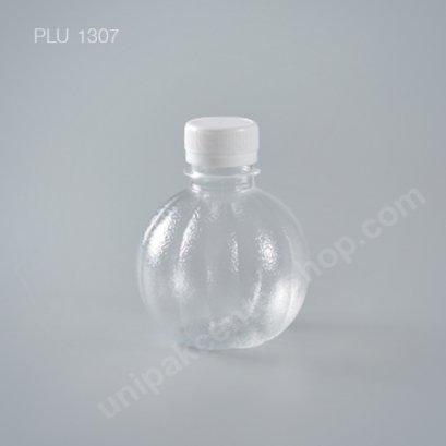 ขวดน้ำผลไม้ PET 220 cc. ลูกส้ม+ฝาขาว