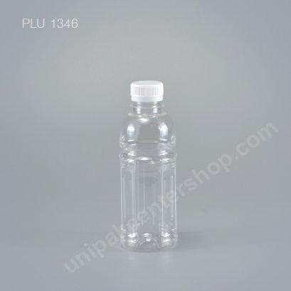 ขวดน้ำผลไม้PET โออิชิ300cc +ฝาขาว ปาก30mm