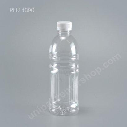 ขวดน้ำผลไม้PET  500cc โออิชิ +ฝาขาว ปาก30mm