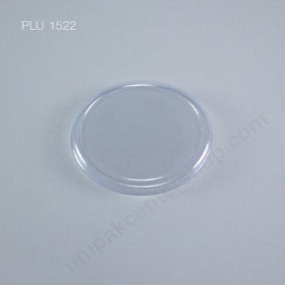 ฝา PET ปิดถ้วยไอศกรีมกระดาษ 4 oz (Clear Ice Cream Lid for 4oz. Cup)  (1596-1597)