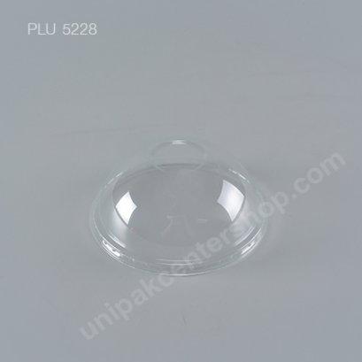 ฝาโดม PET (116mm) ไม่เจาะรู