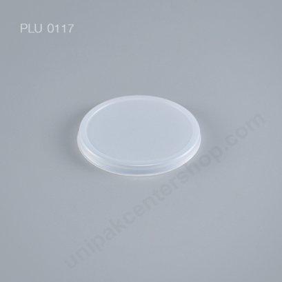 ฝา PS ปิดถ้วยไอศกรีมกระดาษ 4 ออนซ์ (White Ice Cream Lid for 4oz. Paper Cup)