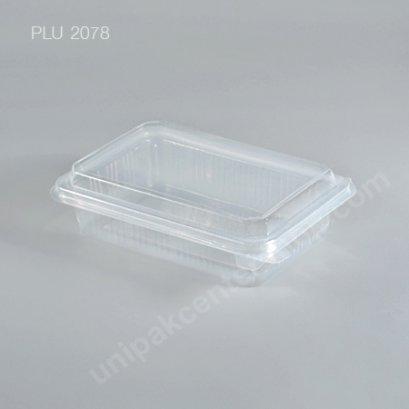 กล่องอาหาร 1 ช่อง PPN 500 ml.+ ฝาในตัว