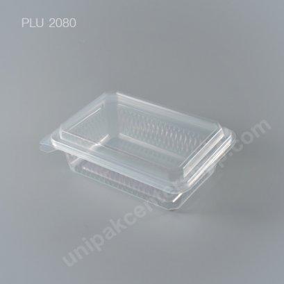 กล่องอาหาร 1 ช่อง PPN (650ml.) + ฝาในตัว (EPP)