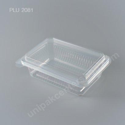กล่องอาหาร 1 ช่อง PPN (750ml.) + ฝาในตัว (EPP)