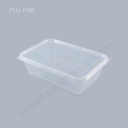 กล่องใส่อาหาร วัสดุ PP พร้อมฝา บรรจุ 650 ml. ตรา โรดดี้แพค