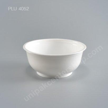 ชามบะหมี่ PP สีขาว #145mm 500ml.