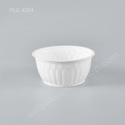ชามลายฟักทอง PP สีขาว DIA.118 mm 350 ml
