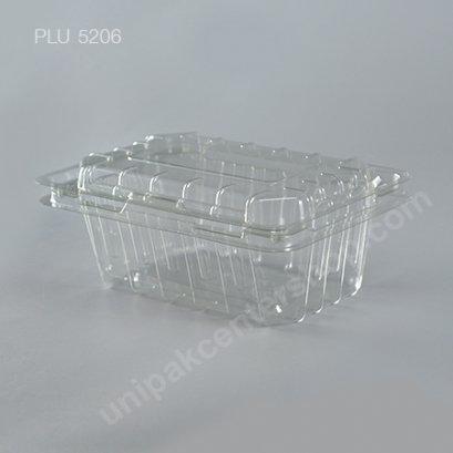 กล่อง PET ใส่ผลไม้ สลัด (YL:180-120) (Fruit or Salad Box)