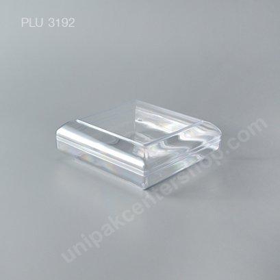 กล่องแข็งใสสี่เหลี่ยม + ฝา (Round Hard Plastic Case) C-0203
