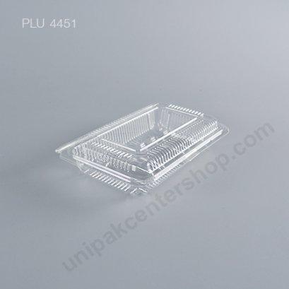 กล่องใส สี่เหลี่ยมผืนผ้า-L - ไซส์ใหญ่ 10x15.3x3.3cm (Large Rectangular OPS Food Box) (TL-1L)ตื่น