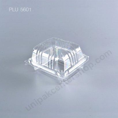 กล่องใส สี่เหลี่ยมผืนผ้า-M - ไซส์กลาง 11.4x14x8cm (Medium Rectangular OPS Food Box) (TP-43)A